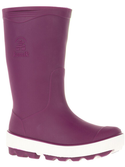 Kamik Riptide Rubber Boots Kids Dark Purple